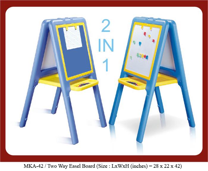mka-42 MyKidsArena plastic easel board