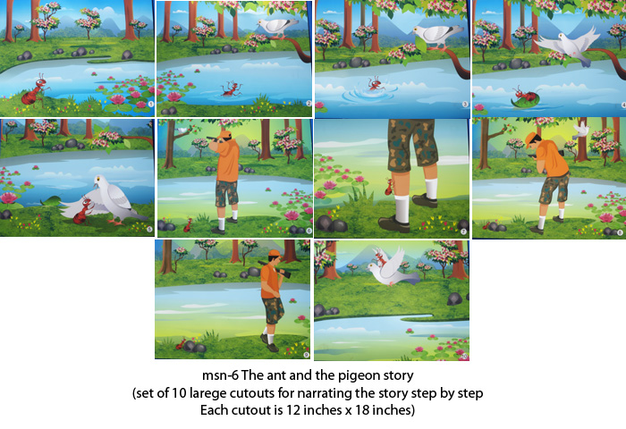 Play school material for story narration for Play schools ...