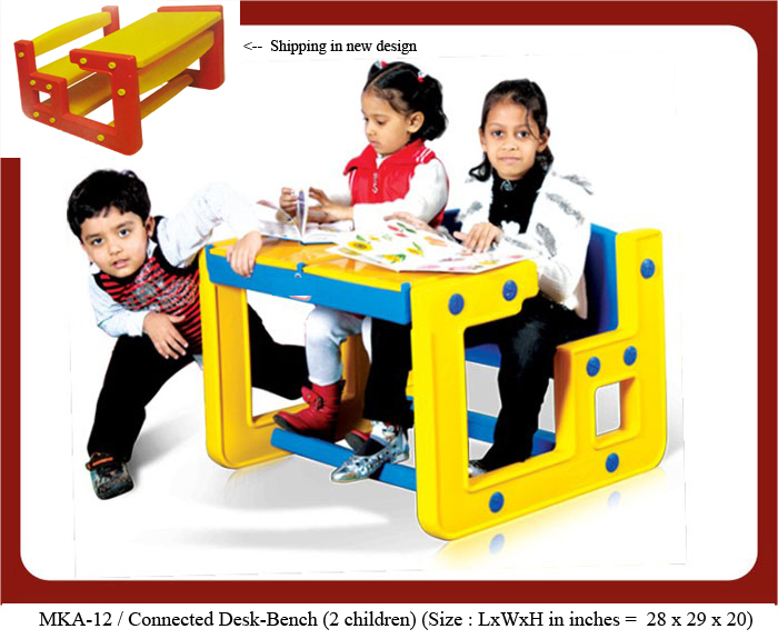 play school benches mka-12