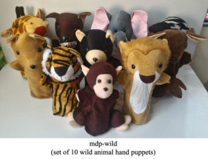 Images of Hand puppets and glove puppets for play schools online in india from manufacturers