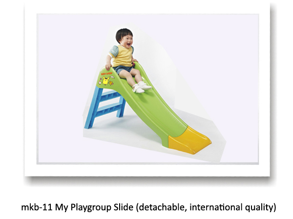 my play group slide in india