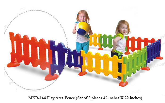 image of mkb-144 play area fence from mykidsarena