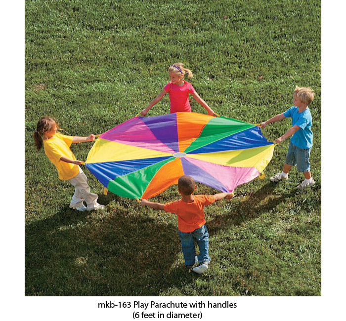 image of mkb-163 play school parachute play