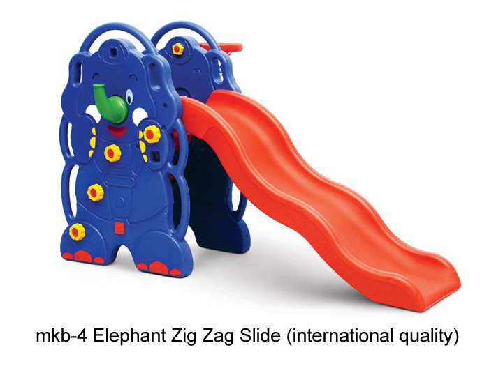 kindergarten play equipments like elephant slide
