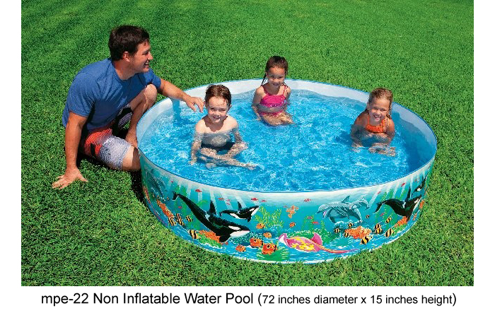 image of mpe-22 non inflatable water pool