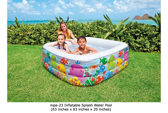 image of mpe-23 inflatable water pool