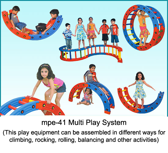 image of mpe-41 multi play station for kids in play school