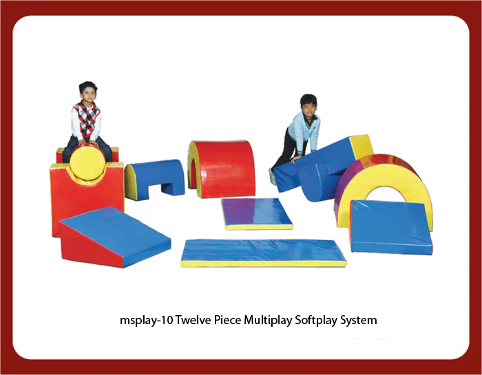 image of play school soft play equipments