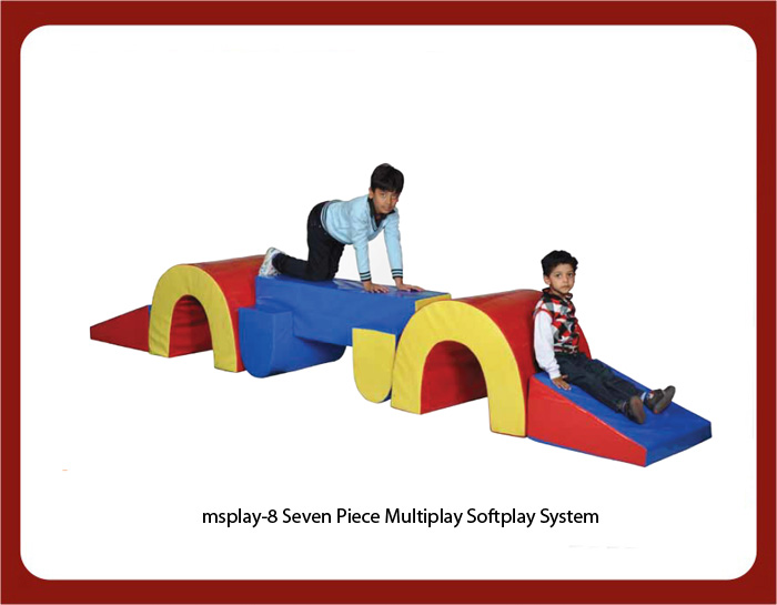 image of soft play equipments for play schools