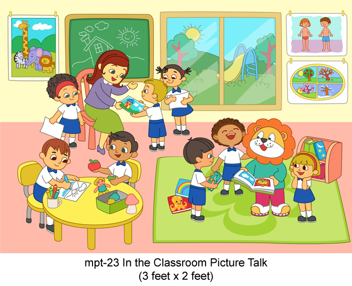 Play School Material For Picture Talk By Mykidsarena Buy Online India