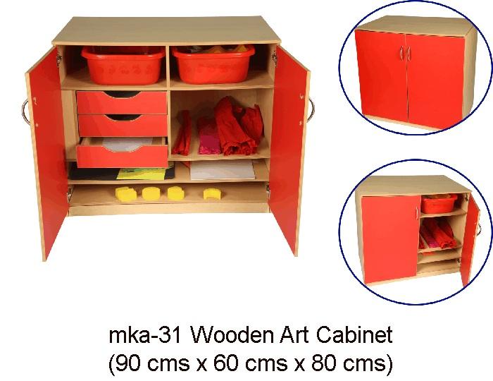 wooden furniture - mka-31 art cabinet