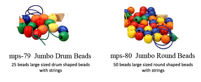 beads for play school for threading