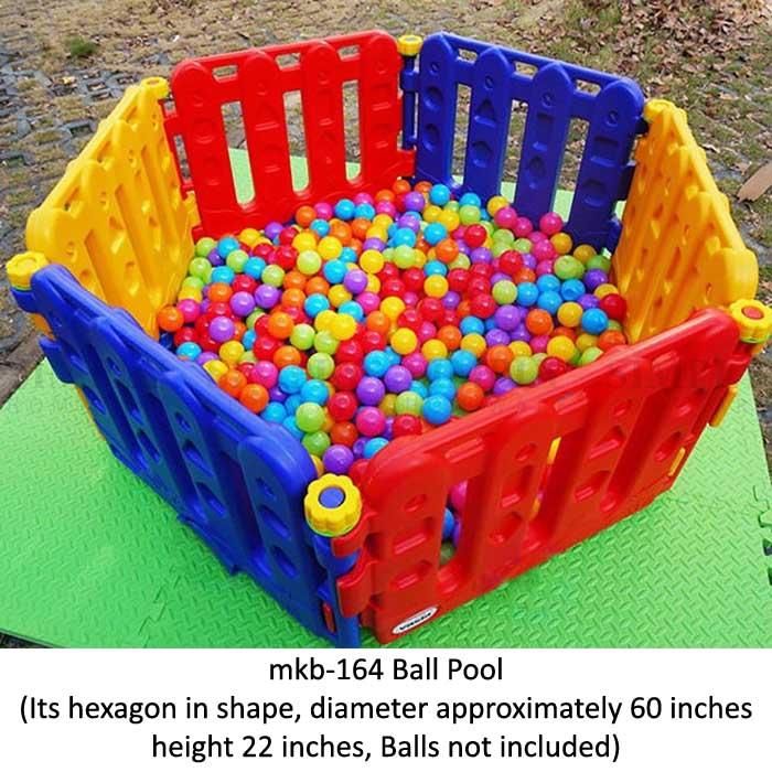 mkb-164 ball pool for play school