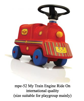 mpe-52 my train engine ride-on for playgroup