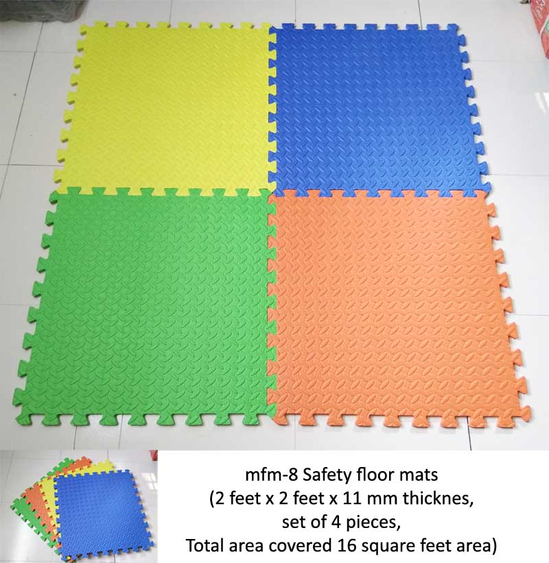 mfm-8 safety floor mats for play schools