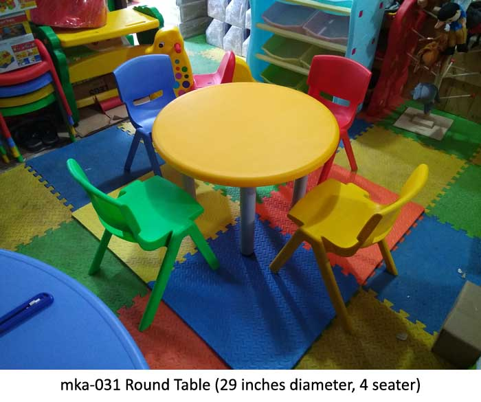 mka-031 Round table for play school