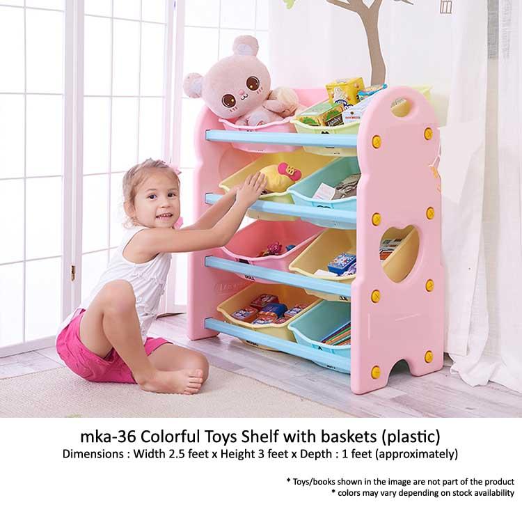 mka-37 classroom shelf for play school