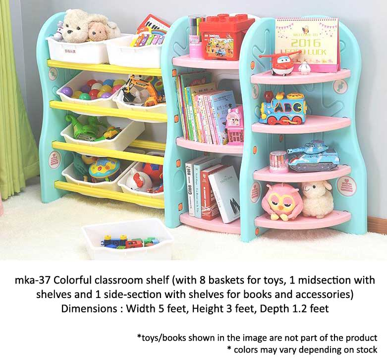 classroom shelf for play school