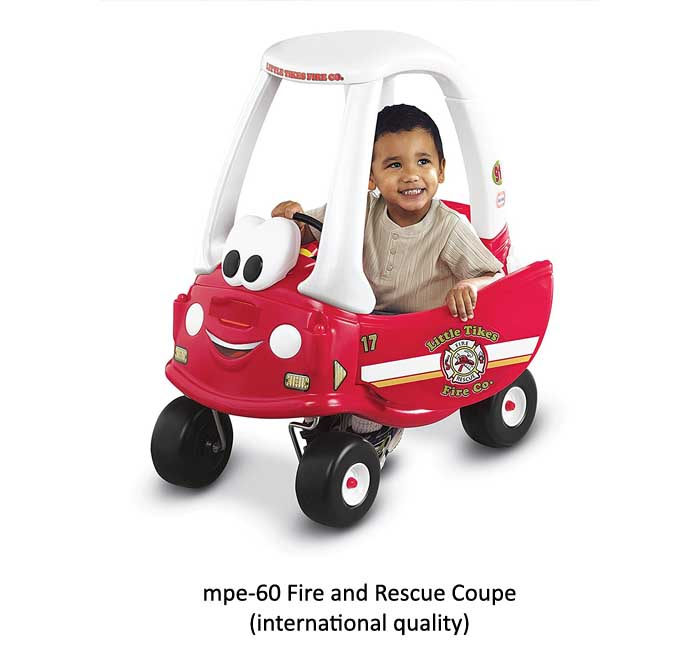 mpe-60 rescue coupe for play school