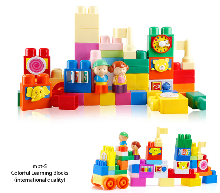 mbt-5 colorful learning blocks