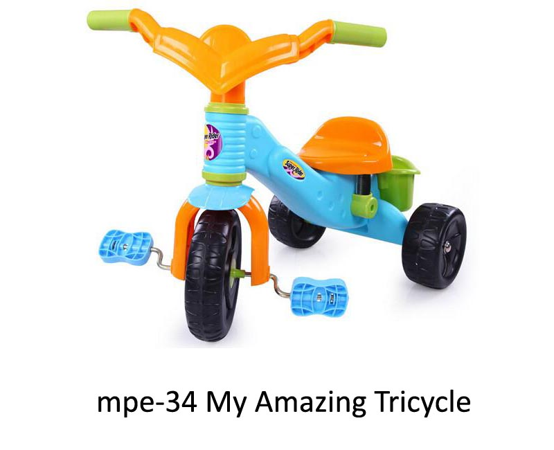 mpe-34 My Amazing Tricycle
