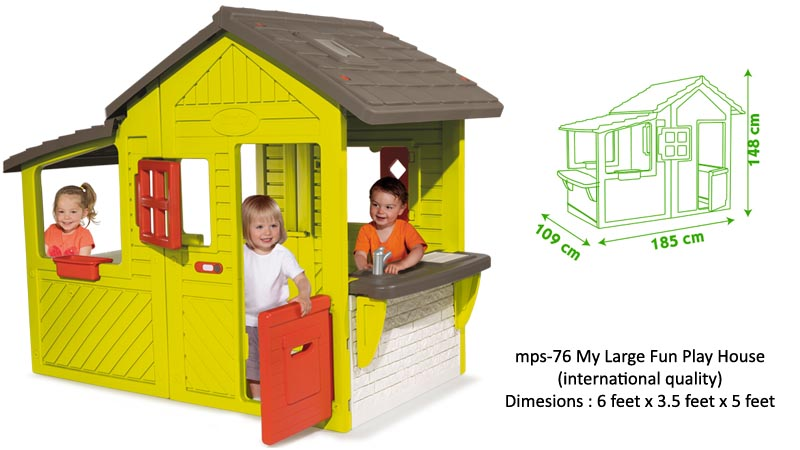 Mps 76 My Large Fun Play House For Kids School Mykidsarena