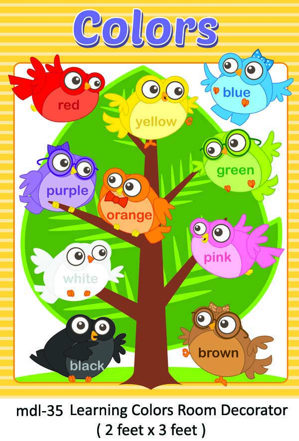 Play School Class Room Decoration And Wall Decoration And