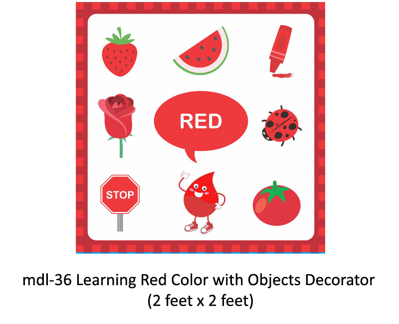 Mdl-36 Learning Red Color With Objects