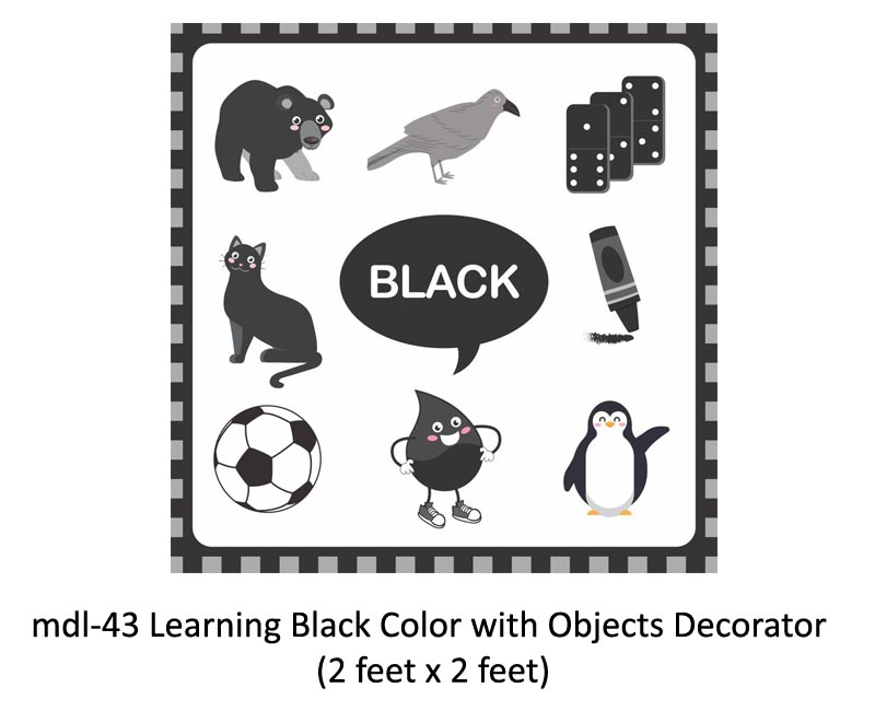 Mdl-43 Learning Black Color With Objects